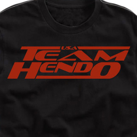 "Clinch Gear ""Team Hendo USA"" T-shirt"