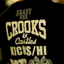 Krazy Bee x Crooks & Castles