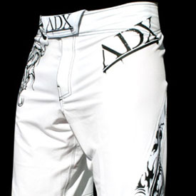 ADX White Dragon Fight Shorts