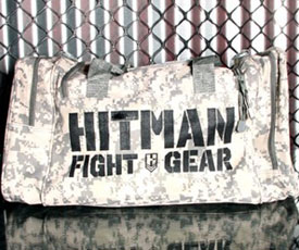 Hitman Camo Duffel Bag