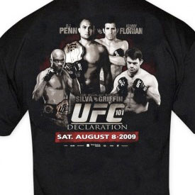 UFC 101 Clothing Recap