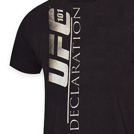UFC 101: Declaration Official T-shirts