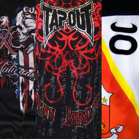 UFC 102 Clothing Recap
