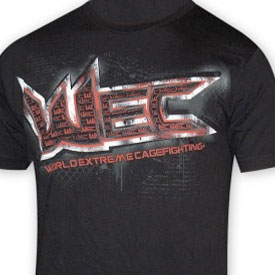 World Extreme Cagefighting T-shirts
