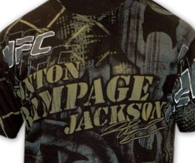 Rampage Jackson Signature T-shirt