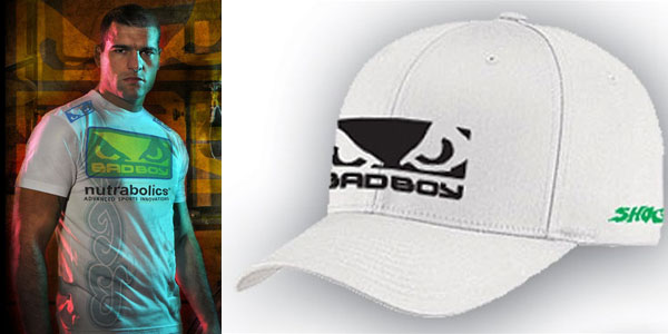 Bad Boy X Shogun Rua Ufc 104 Hat Fighterxfashion Com