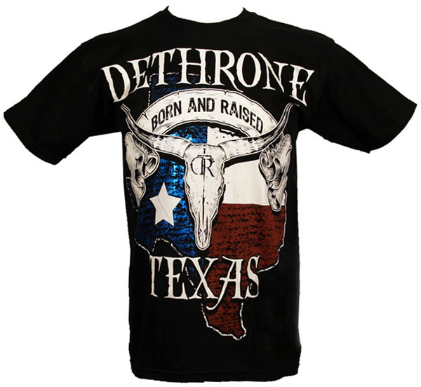 Dethrone-Texas-shirt-1