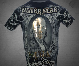 Silver Star x Rashad Evans T-shirt