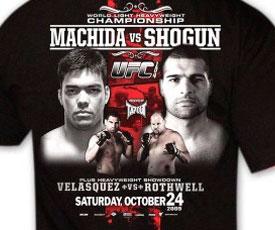 Official UFC 104 Event T-shirt