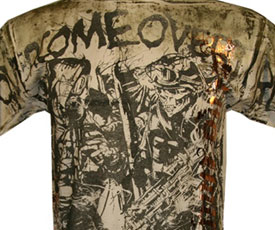 Top 5 MMA Military T-shirts