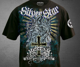 Silver Star x Jon Jones Walkout T-shirt