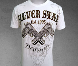 Silver Star x Manny Pacquiao T-shirt