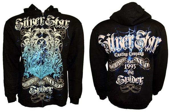 silver-star-spider-hoodie