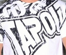 TapouT x Denis Kang UFC 105 Clothing