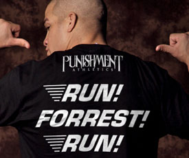"Punishment ""Run Forrest Run"" T-shirt"