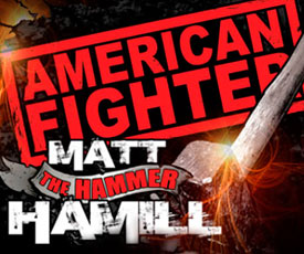 American Fighter x Matt Hamill T-shirt