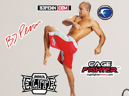 BJ Penn Fathead Wall Graphic