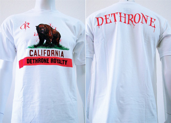 dethrone-cali-shirt
