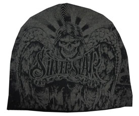Silver Star Dark Angel Beanie