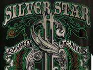 Silver Star Rashad Evans UFC 108 T-shirt (black)