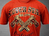 Silver Star Manny Pacquiao Destroyer T-shirt (red)