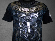 Silver Star Thiago Silva UFC 108 Walkout T-shirt