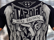 TapouT x Mike Brown Autographed Walkout Shirt