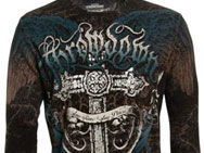 Throwdown Headstone Long Sleeve Thermal