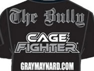 Cage Fighter x Gray Maynard UFN 20 T-shirt