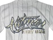 HITMAN Pinstripe Script T-shirt