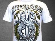 Silver Star x Rashad Evans UFC 108 T-shirt (white)