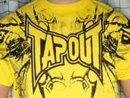 TapouT Darkside T-shirt (yellow)
