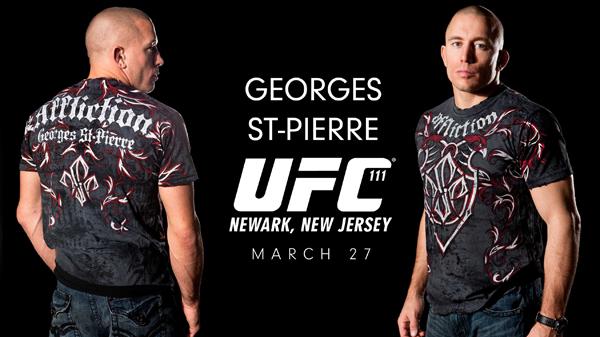 Georges St Pierre Ufc Fighter T Shirt