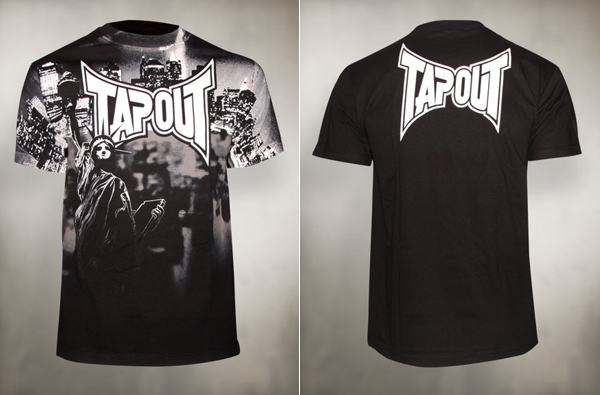 26bef2eab TapouT New York Liberty T-shirt | FighterXFashion.com