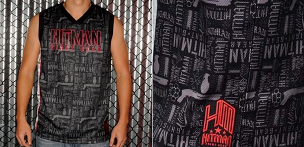 hitman fight gear collage jersey � fighterxfashioncom