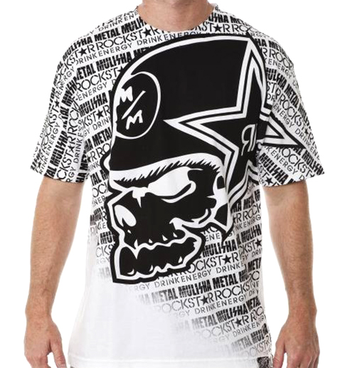 Metal Mulisha x Rockstar ROCKSTEEZY T-shirt – FighterXFashion.com 9f6e1f4b7