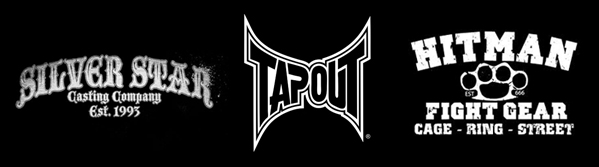 tapout silver star and hitman fight gear sold