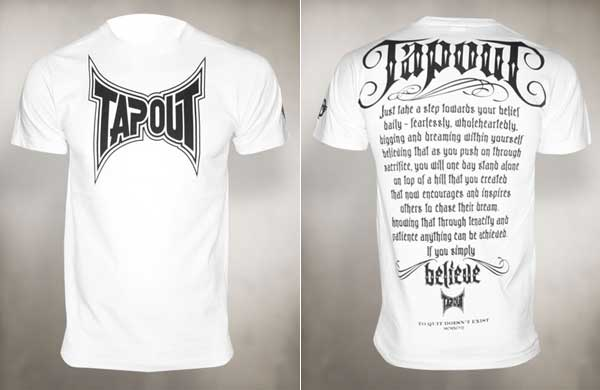 "TapouT ""Manifesto"" T Shirt"