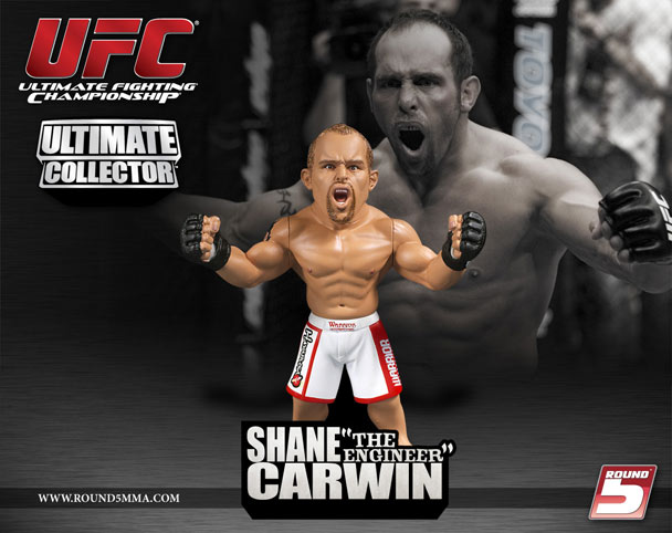 UFC Ultimate Collector Series 5 Shane Carwin figurine Limited Edition