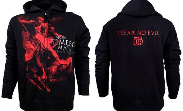 0ee7a8260 Ranger Up St. Michael Archangel Protector Hoodie – FighterXFashion.com
