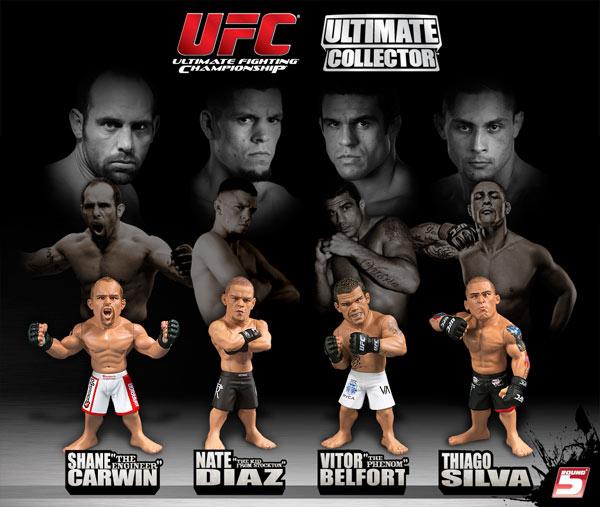 UFC Ultimate Collector Series 5 Thiago Silva figurine Limited Edition