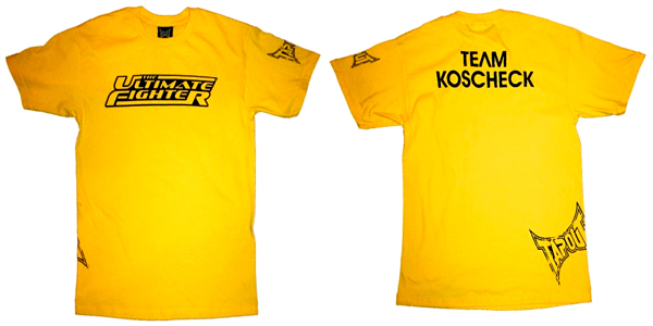 The Ultimate Fighter Team T-shirts