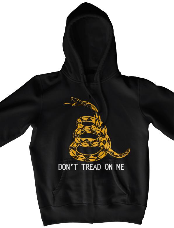 Don t tread on me hoodie