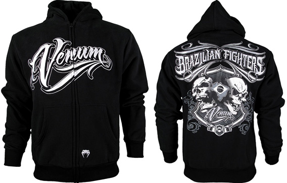 click to buy venum brazilian fighters zip up hoodie
