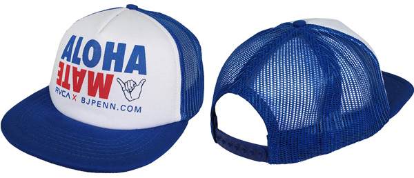 7d85e029b87e1 RVCA x BJ Penn Aloha Mate Trucker Hat – FighterXFashion.com