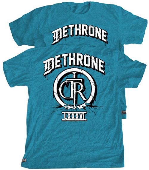 dethrone-cracked-mma-shirt