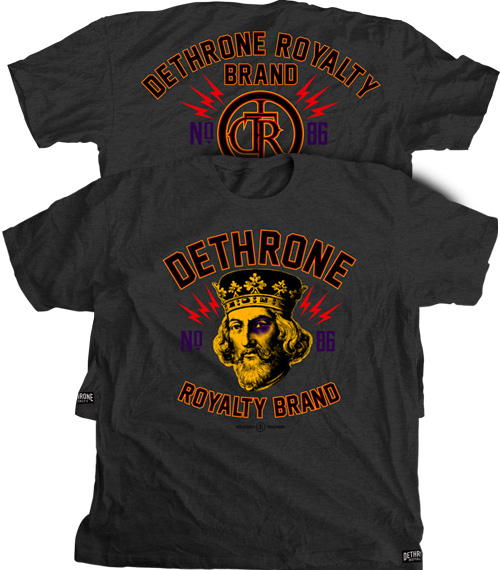 dethrone-dotted-mma-shirt