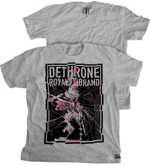 dethrone-shattered-mma-shirt
