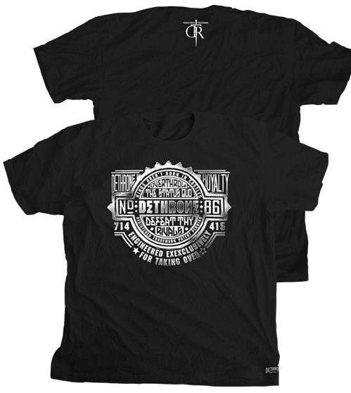 dethrone-stamped-mma-shirt