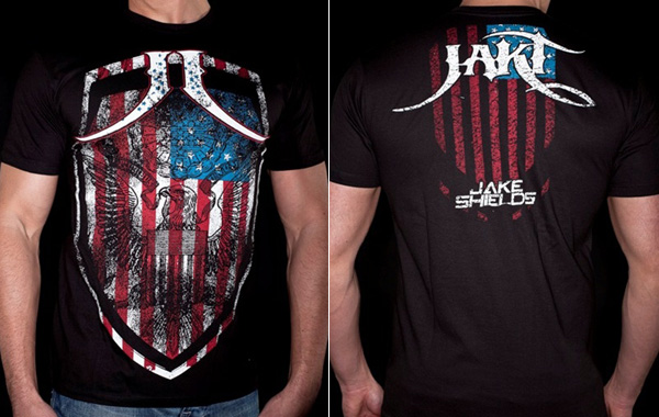 Jake Shields Shirt JAKT US Shield